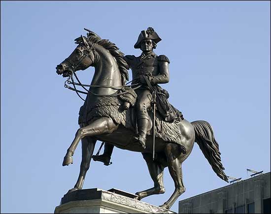 georgex_statue